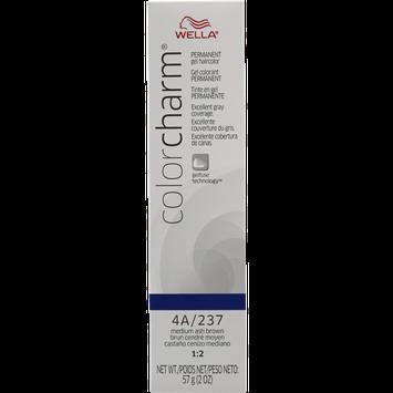 Wella Color Charm Gel Permanent Tube Hair Color 237/4A Medium Ash Brown
