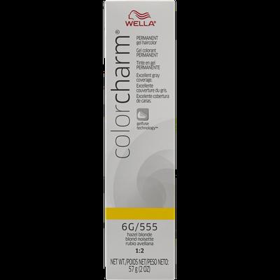 Wella Color Charm Gel Permanent Tube Haircolor - #555 HAZEL BLONDE