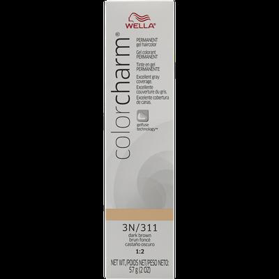 Wella Color Charm Gel Permanent Tube Haircolor - #311/3N DARK BROWN