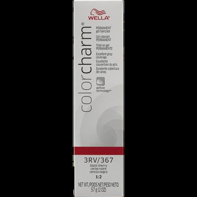 Wella Color Charm Gel Permanent Tube Haircolor - #367/3RV BLACK CHERRY
