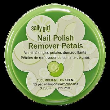 Sally Girl Polish Remover Wipes Cucumber Melon