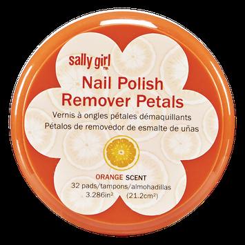 Sally Girl Polish Remover Wipes Orange