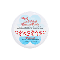 Sally Girl Peppermint Scented Nail Polish Remover Wipes
