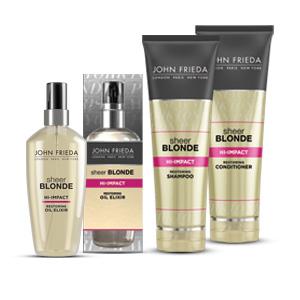 The NEW John Frieda® Sheer Blonde® Hi-Impact Collection