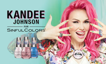 Kandee Johnson for SinfulColors: Anime