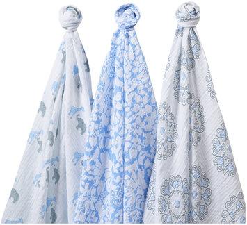 Swaddle Designs SwaddleLite - Set of 3 - Lush, Blue