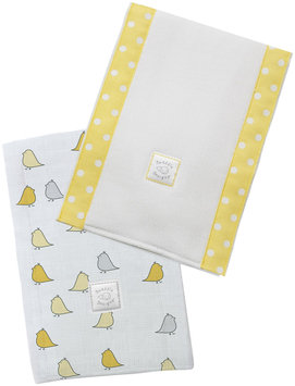 Swaddle Designs Baby Burpies - Yellow Little Chickies - 2 Pk - 1 ct.