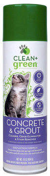 Clean And Green Clean+Green Concrete & Grout Pet Stain & Odor Remover for Cats - 16 oz
