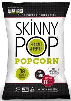 SkinnyPop® Sea Salt & Pepper Popped Popcorn