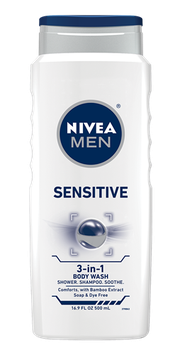 NIVEA Sensitive Men Body Wash