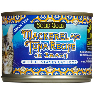 Solid Gold Health Products 937246 Cat Grain Free Mack-Tuna 24-6 Oz. Pack of 24