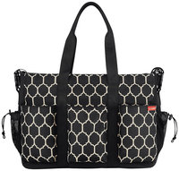 Skip Hop Diaper Bag Duo Double Deluxe Onyx Tile