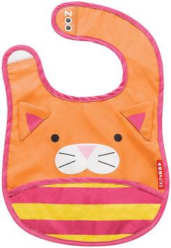 Skip Hop Zoo Tuck-Away Bib - Cat