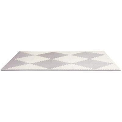 Skip Hop Playspot Geo Foam Floor Tiles - GreyCream - 1 ct.