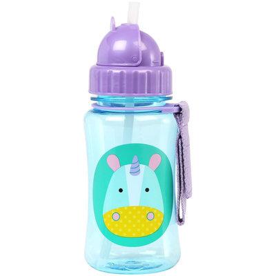 Skip Hop Zoo Flip-Straw Sports Bottle - Unicorn