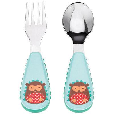 Skip Hop ZOOTENSILS Fork and Spoon - Hedgehog