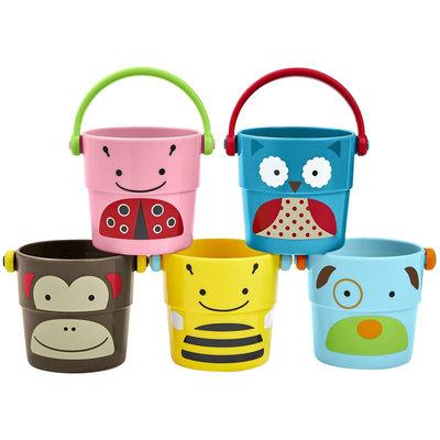Infant Skip Hop 'Zoo' Stack & Pour Buckets