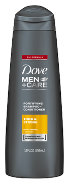 Dove Men+Care Thick And Strong Fortifying 2in1 Shampoo + Conditioner