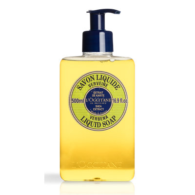 L'Occitane Shea Butter Liquid Soap Verbena