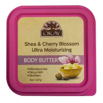 OKAY® Shea & Cherry Blossom Ultra Moisturizing Body Butter
