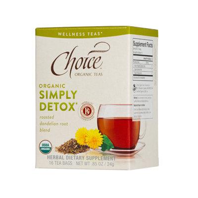 Choice Organic Teas Simply Detox Wellness Tea