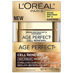 L'Oréal Paris Age Perfect® Cell Renewal* Day SPF 15 Cream