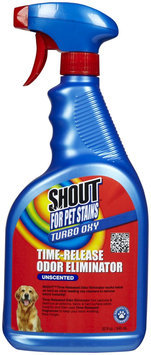 Shout Pets Turbo-Oxy Time-Release Odor Eliminator - Unscented - 32 oz