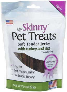 My Skinny Pet Turkey & Rice Jerky Treats - 5.5oz