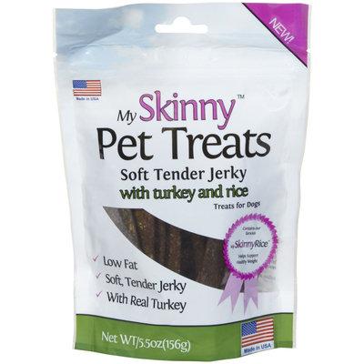 My Skinny Pet Turkey & Rice Jerky Treats - 5.5oz