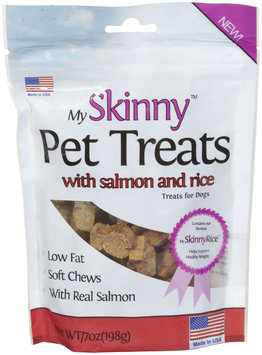 My Skinny Pet Salmon & Rice Treats - 7oz