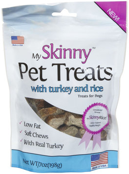 My Skinny Pet Turkey & Rice Treats - 7oz