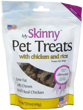 My Skinny Pet Chicken & Rice Treats - 7oz