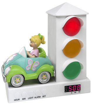 The Stoplight Alarm Clock Car Alarm Clock - Girl
