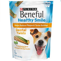 Beneful Dog Treats Healthy Smile Dental Twist Small To Medium