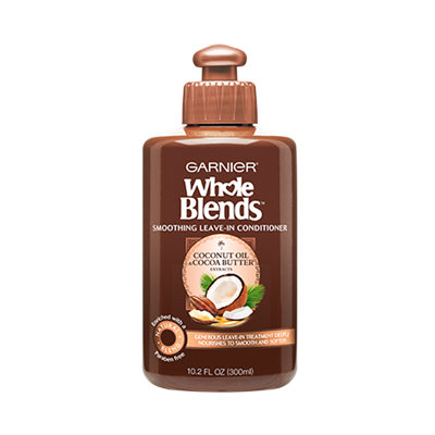 Garnier Whole Blends Coconut Oil & Cocoa Butter Extracts Smoothing Leave-In Conditioner