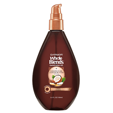 Garnier Whole Blends Coconut Oil & Cocoa Butter Extracts Smoothing Oil