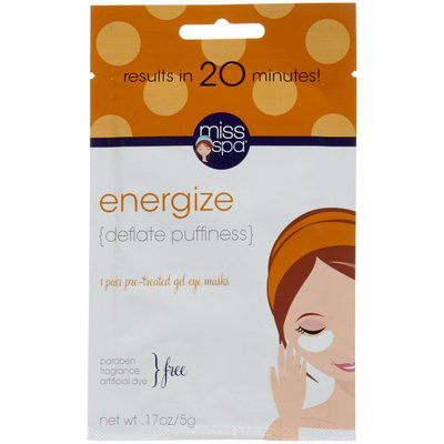 Miss Spa Gel Eye Mask - Energize - 0.17 oz