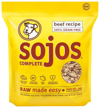 Sojos Complete Dog Food Mix Beef 8 lb.
