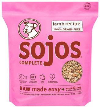 Sojos Complete Grain-Free Dog Food Lamb 2 lbs