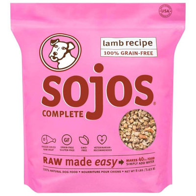 Sojos Complete Grain-Free Dog Food Lamb 8 lbs