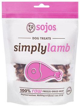 Sojourner Farms 7-55709-73004-7 Sojos Simply Lamb Dog Treats - 4 oz. bag