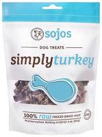 Sojourner Farms 7-55709-71004-9 Sojos Simply Turkey Dog Treats - 4 oz. bag