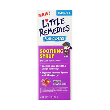 LITTLE REMEDIES® FOR COLDS SOOTHING SYRUP NATURAL BERRY FLAVOR