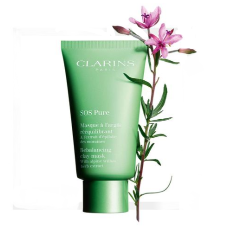 Clarins SOS Pure Rebalancing Clay Mask For Combination To Oily Skin