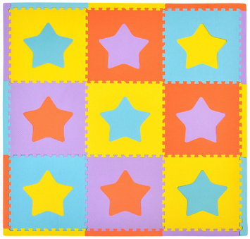Tadpoles Playmat Set 9pc Stars