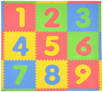 Tadpoles Playmat Set 9pc Numbers - 1 ct.