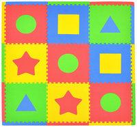 Tadpoles Playmat Set 9pc First Shapes - 1 ct.