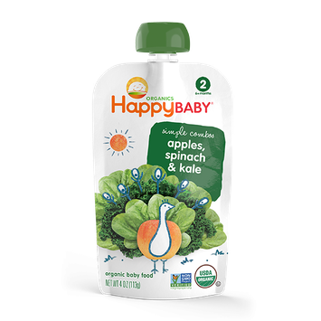 Happy Baby® Organics Simple Combos Spinach, Apples & Kale