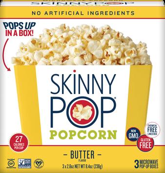SkinnyPop Butter Microwave Popcorn