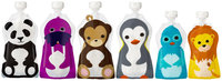 Squooshi Reusable Food Pouch - Assorted Sizes - 6 pk